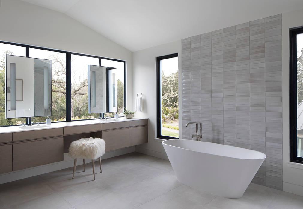 Woodpecker Ranch Modern Bathroom by Feldman Architecture Modern