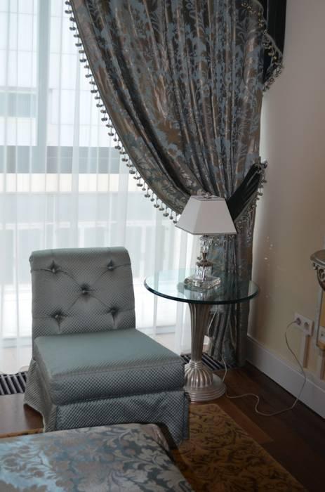 Residenza Privata Estoril: Camera da letto in stile  di Vito De Luca Architetto