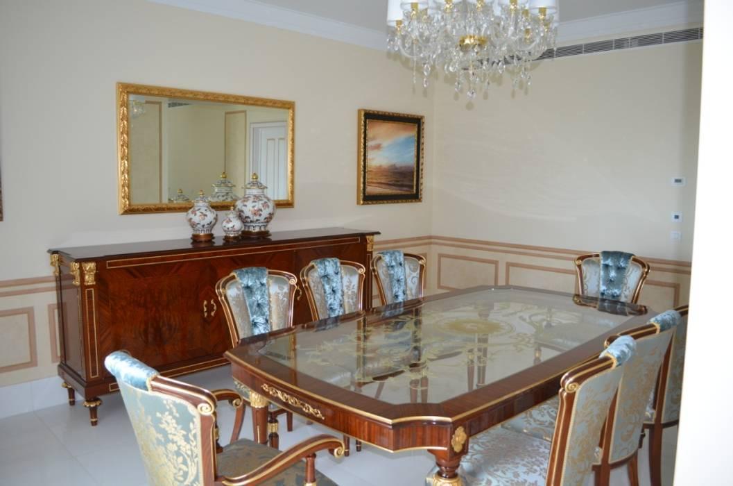 Residenza Privata Estoril: Sala da pranzo in stile in stile Classico di Vito De Luca Architetto