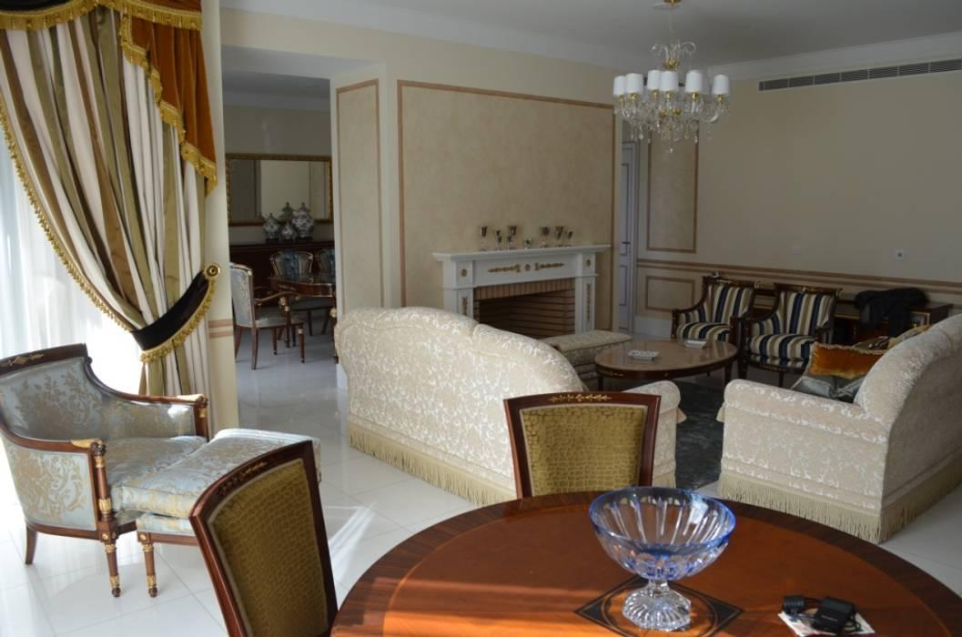 Residenza Privata Estoril: Soggiorno in stile in stile Classico di Vito De Luca Architetto