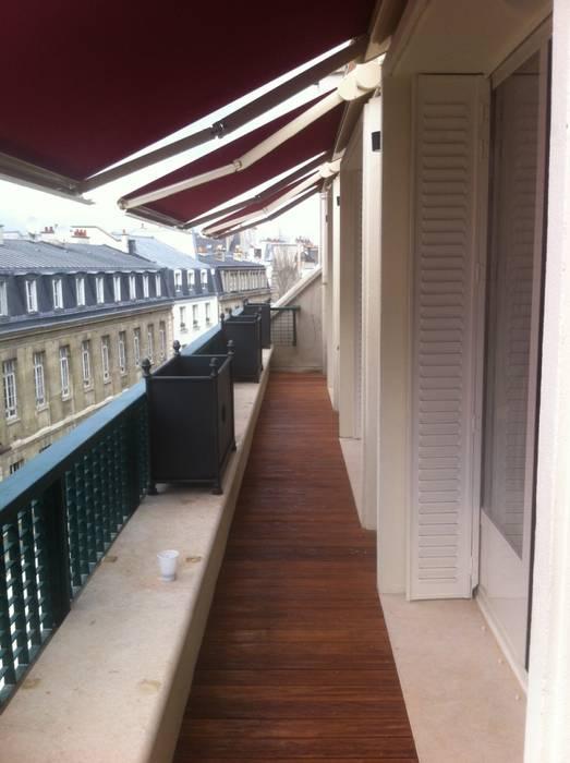 Residenza Privata Parigi: Terrazza in stile  di Vito De Luca Architetto