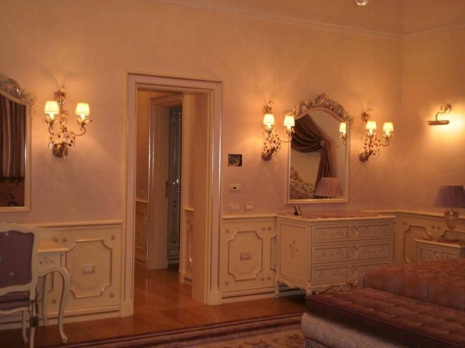 Villa Privata Mosca: Camera da letto in stile in stile Classico di Vito De Luca Architetto