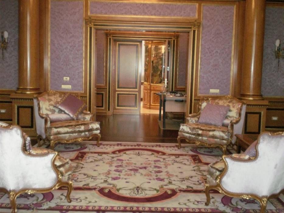 Villa Privata Mosca: Studio in stile in stile Classico di Vito De Luca Architetto