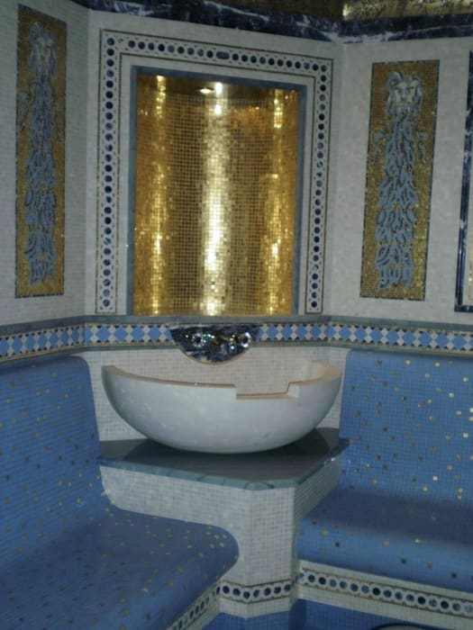 Villa Privata Mosca: Spa in stile in stile Classico di Vito De Luca Architetto