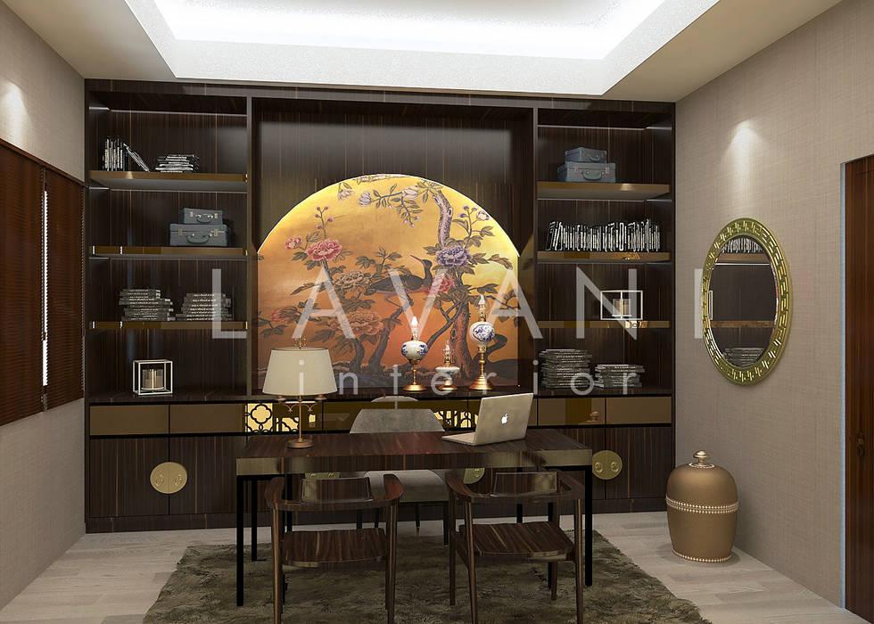 Chinese Style Work Room :  Ruang Kerja by Lavani Interior