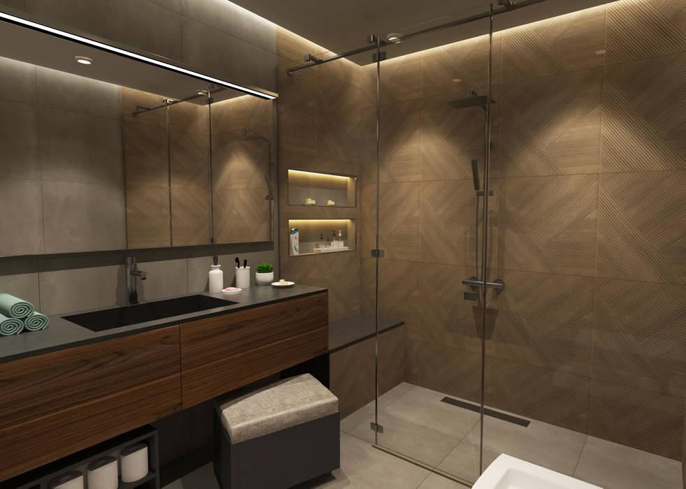 50GR Mimarlık – Beylikdüzü_daire tasarımı:  tarz Banyo