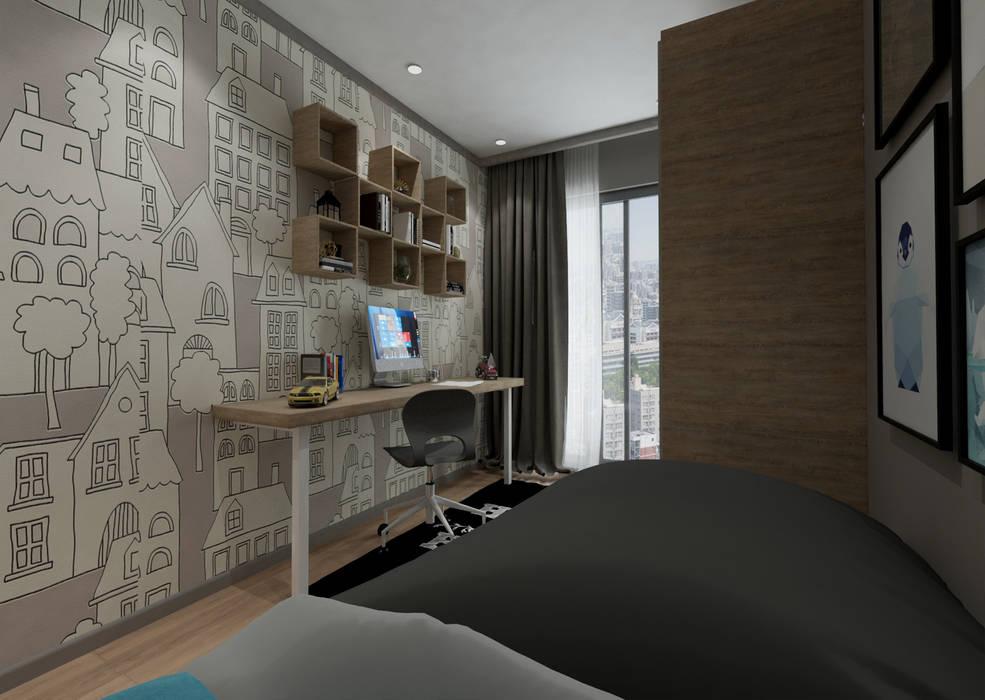 Projekty,  Pokój dziecięcy zaprojektowane przez 50GR Mimarlık