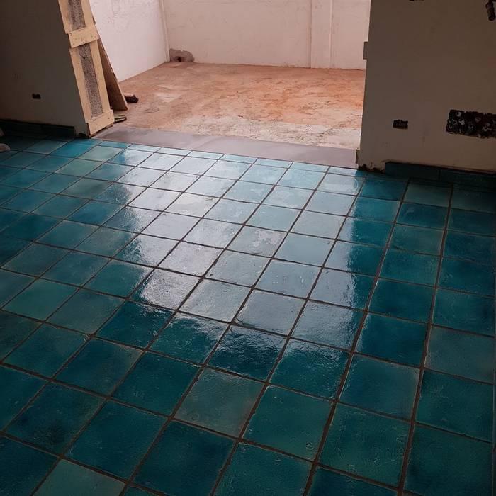 Tuscany Art Floors Ceramic Turquoise