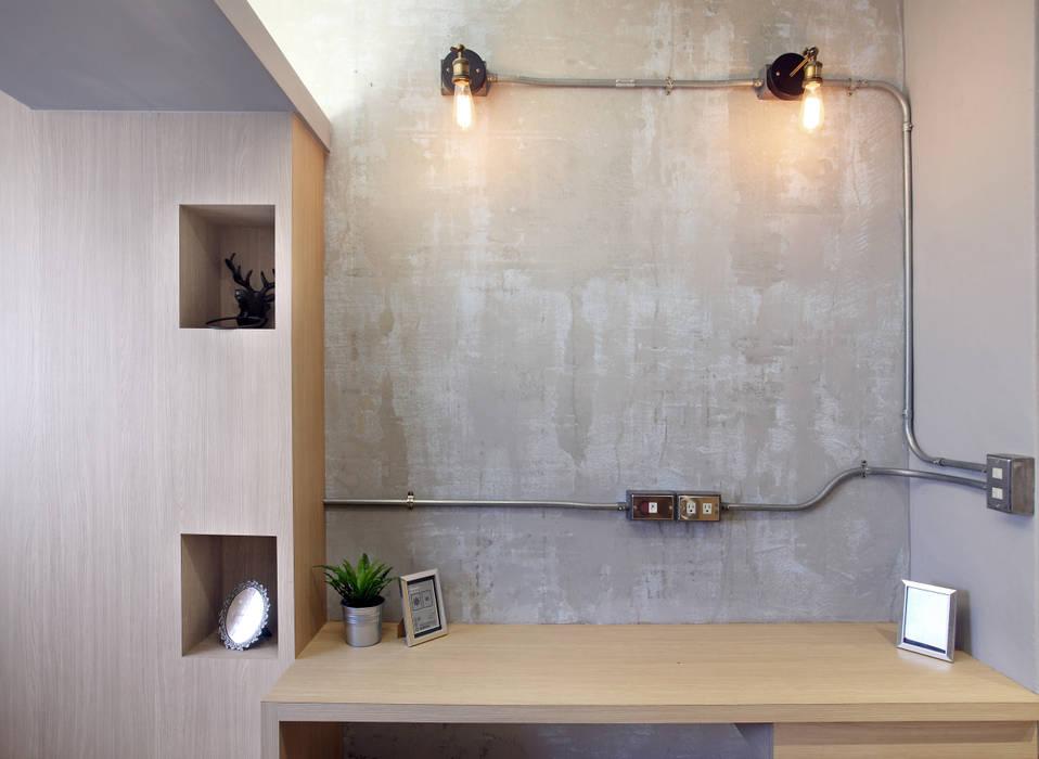 Murs & Sols industriels par 森畊空間設計 Industriel Béton armé