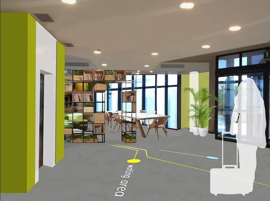 Airoport Hotel: Hotel in stile  di atelier architettura
