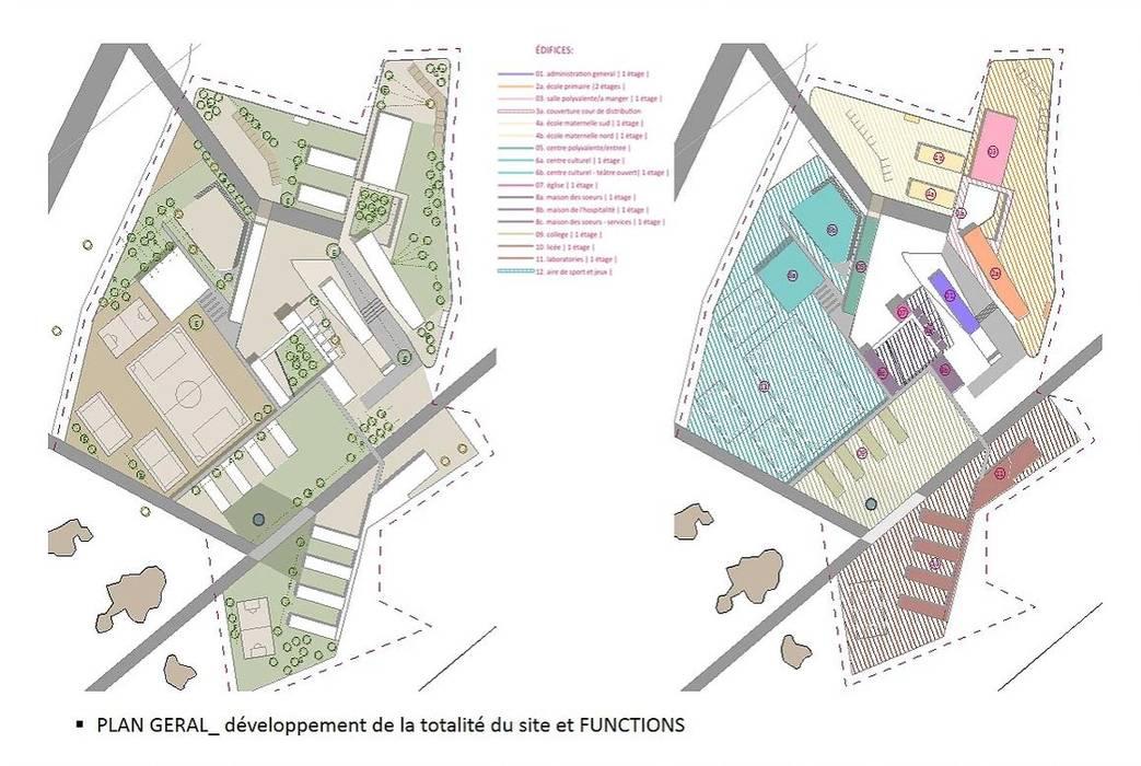 Ville de l'education et de la culture: Scuole in stile  di atelier architettura