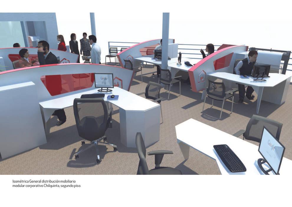 oficina comercial Chilquinta Viña del Mar de IDEAfactory Moderno Contrachapado