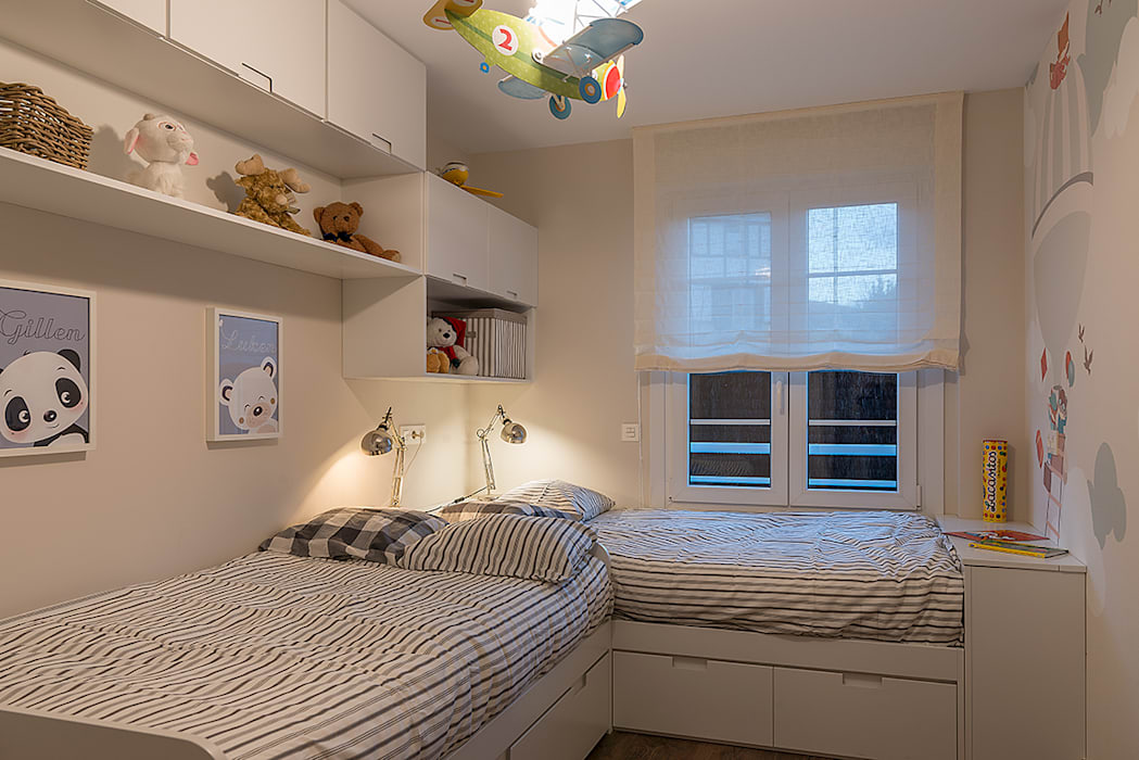 Reforma integral en Neguri: Dormitorios infantiles de estilo  de Gumuzio&MIGOYA arquitectura e interiorismo