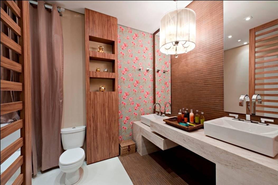 Banheiro social: Banheiros  por JCWK arquitetura (jancowski arquitetura)