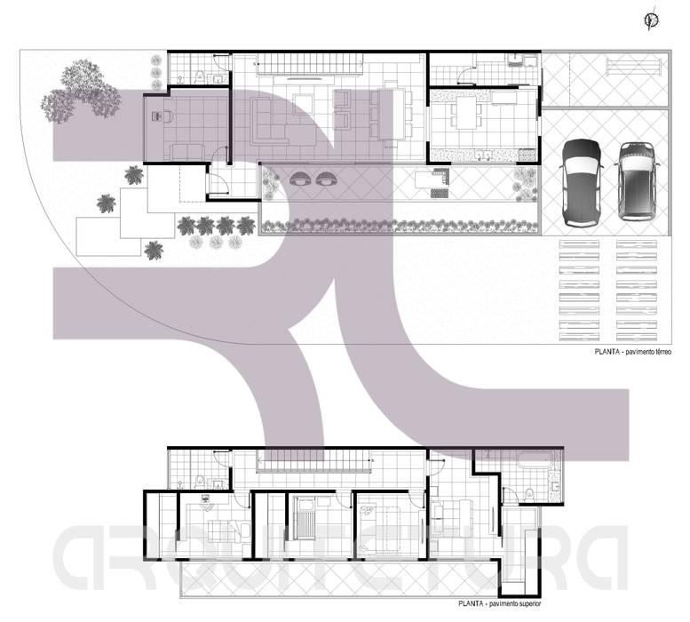 planta:   por rosalima arquitetura