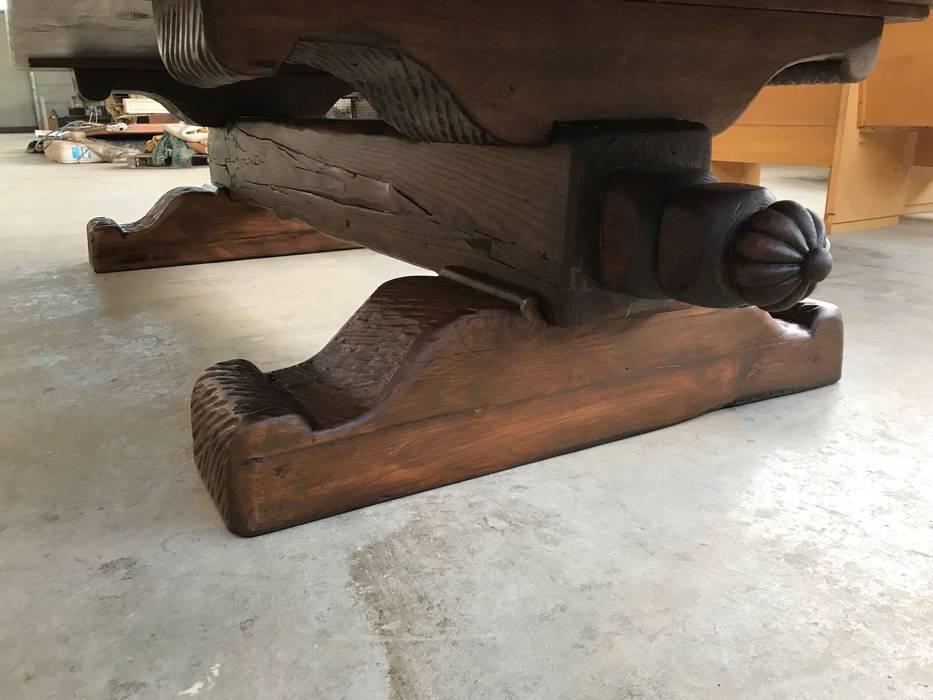 Tavoli In Legno Rustici : Tavoli rustici legno massello cantina in stile di falegnameria su