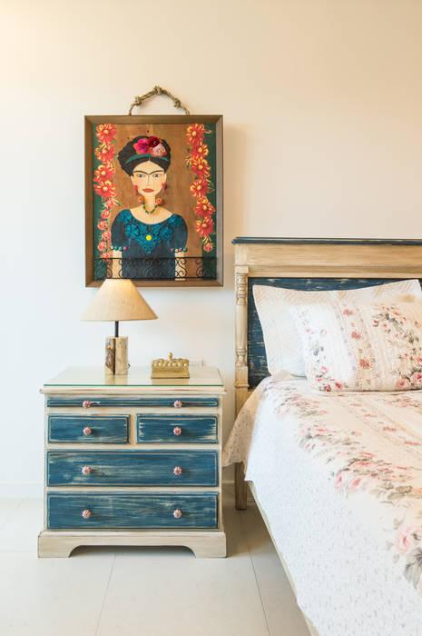 Dormitorios rústicos de Coletânea Arquitetos Rústico