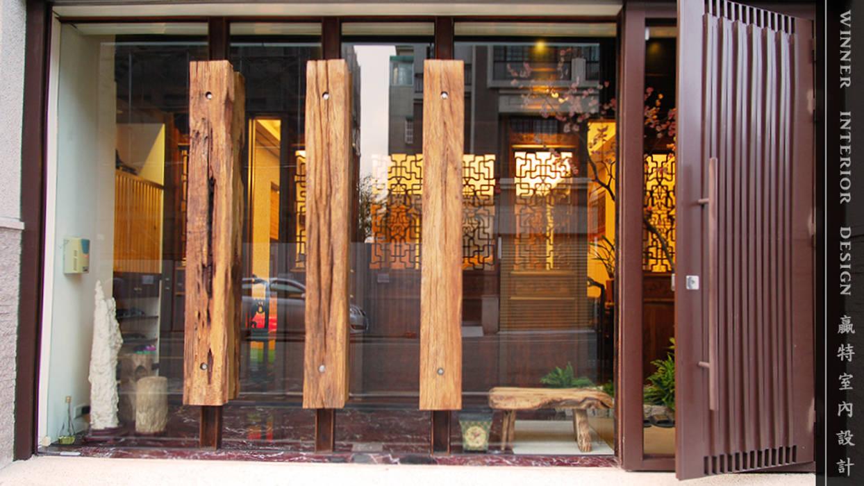 大門 根據 贏特室內裝修工程有限公司 Winner Interior Design 日式風、東方風