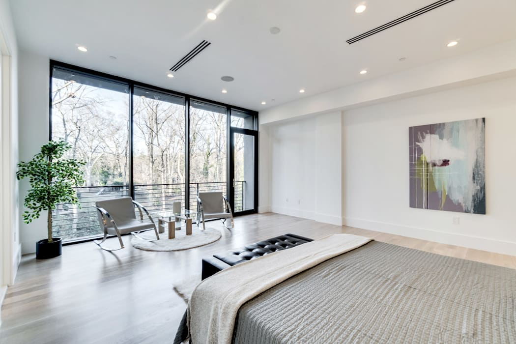 Modern Yatak Odası KUBE Architecture Modern