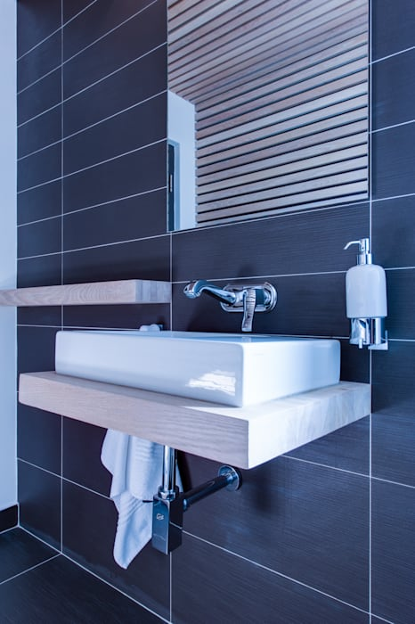 Basin:  Bathroom by JBA Architects