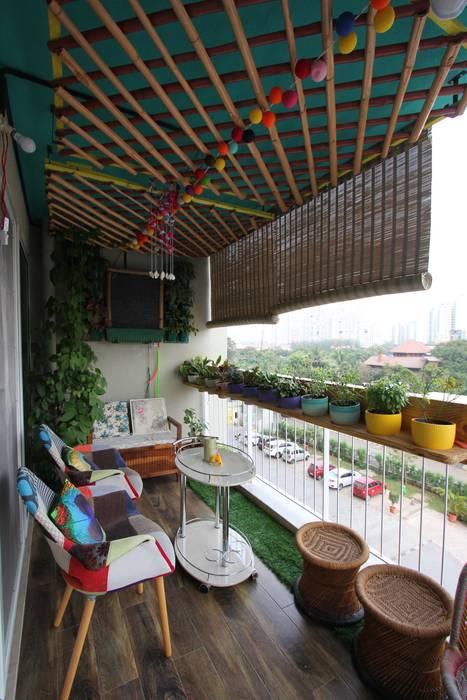 The Up-Scale House Modern garden by Thumbnail Design Studio Modern