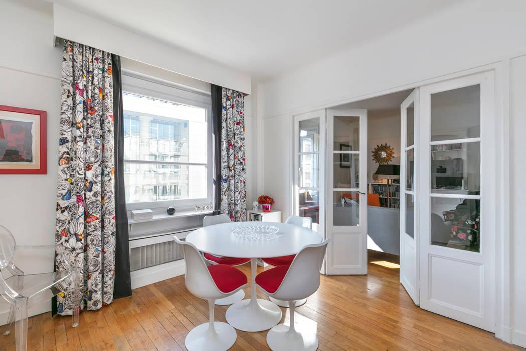 Une salle à manger classique et design: Salle à manger de style de style Classique par E.D. Décoration d'Intérieur
