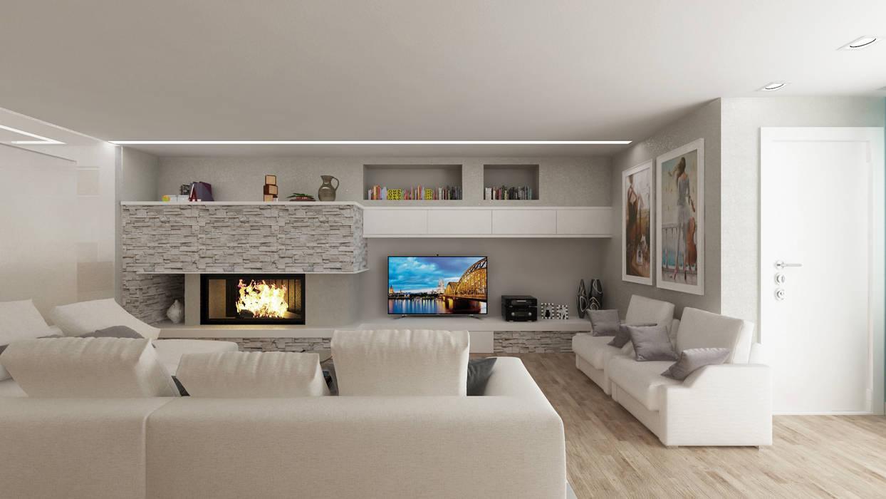 Casa cc: soggiorno in stile di de vivo home design, moderno ...