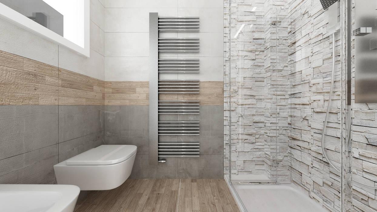 CASA CC Bagno moderno di De Vivo Home Design Moderno