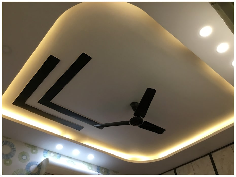 Tremendous False Ceiling In The Master Bedroom Bedroom By U And I Home Interior And Landscaping Eliaenasavecom