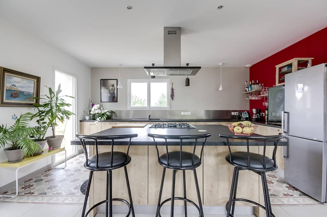 Aménagement d\'intérieur maison neuve: éléments de cuisine de style ...
