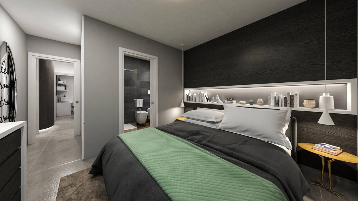 Camera matrimoniale con bagno privato: camera da letto in ...