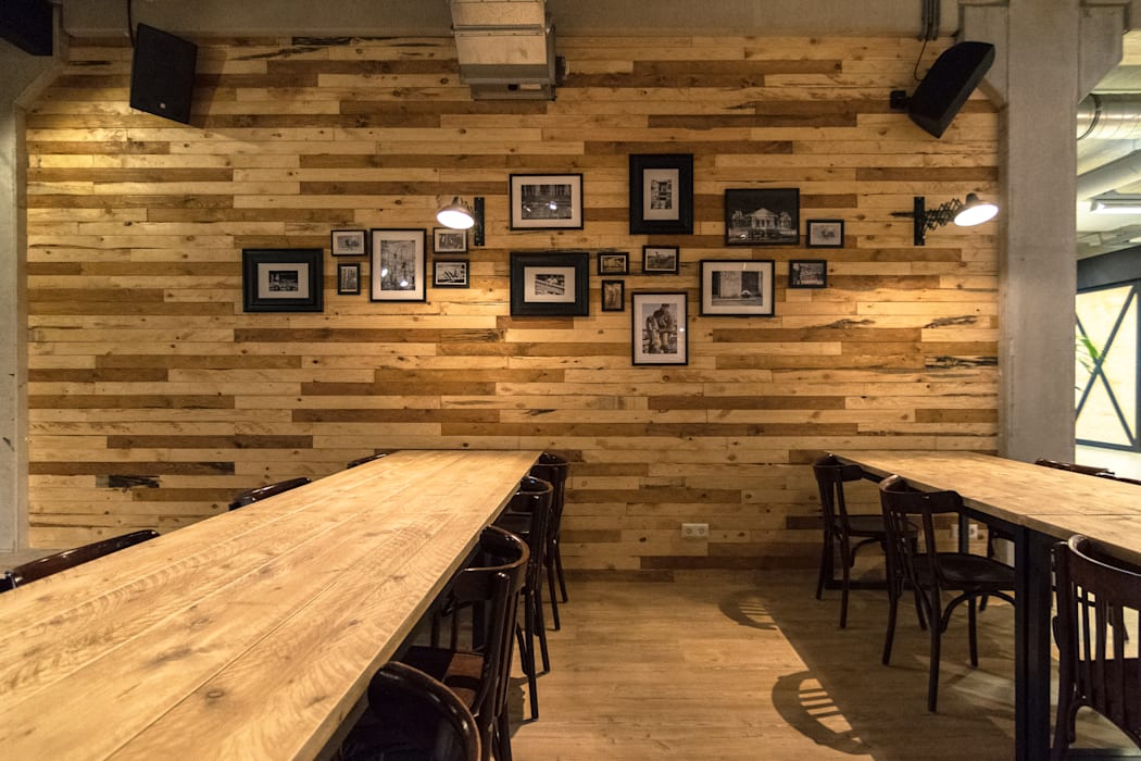 Kantine Industriële bars & clubs van Qupz® Industrieel Metaal