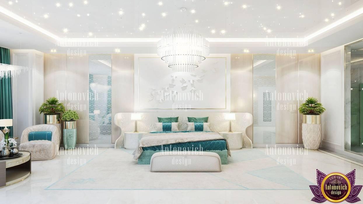 Dormitorios de estilo  de Luxury Antonovich Design, Ecléctico