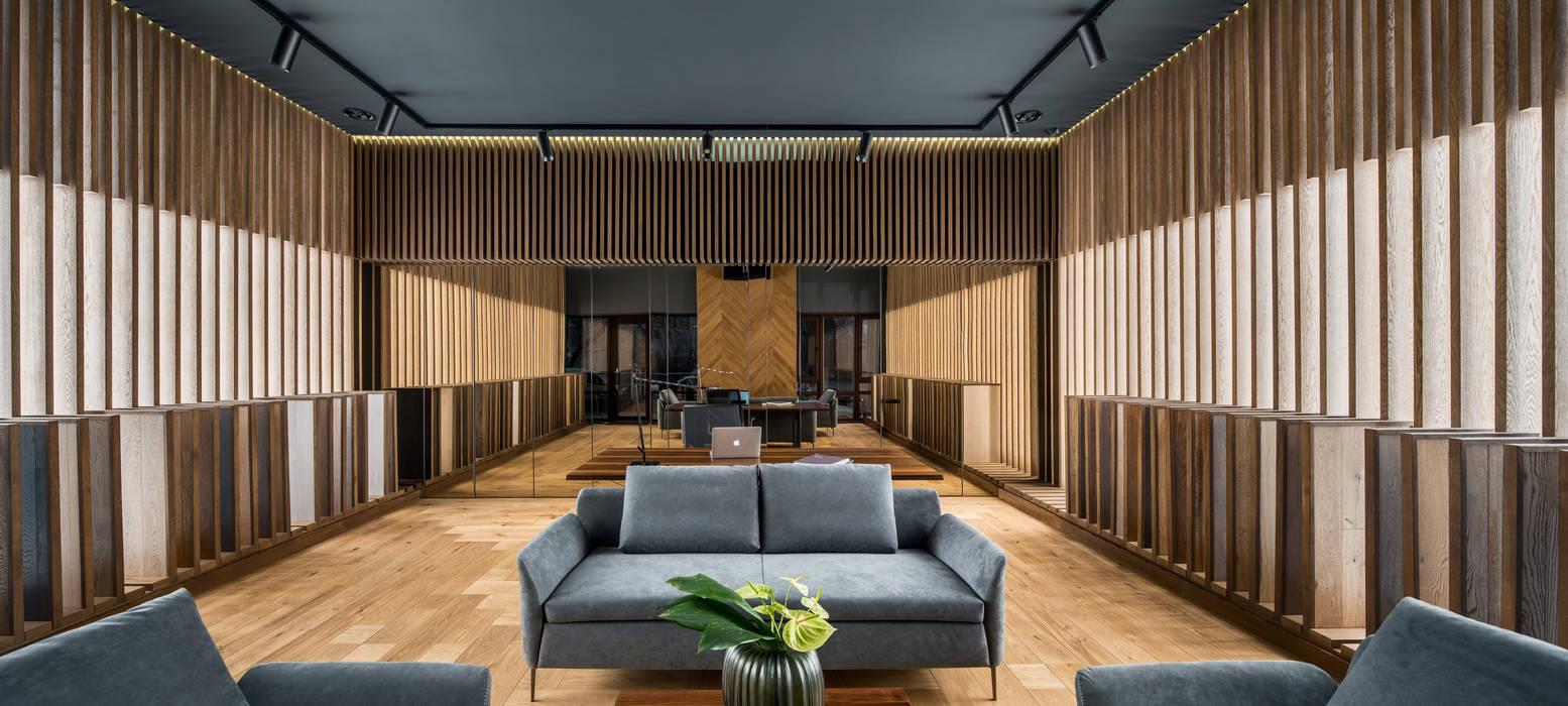 PATTERNO Showroom: Офисы и магазины в . Автор – MONO ARCHITECTS,
