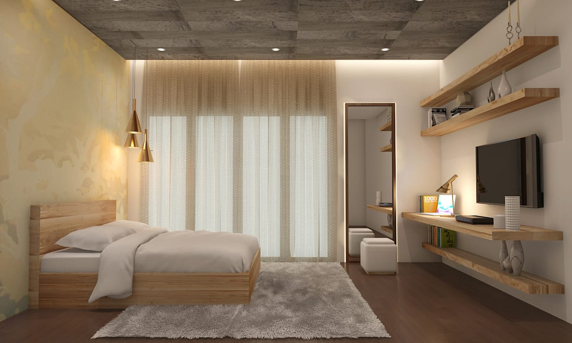Residential:  Bedroom by Designism