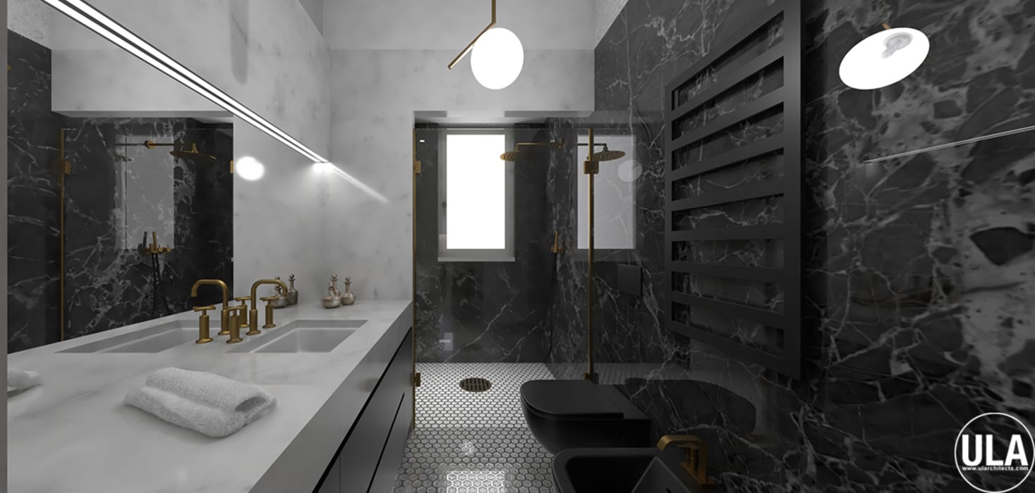 TATA: Bagno in stile  di ULA architects,