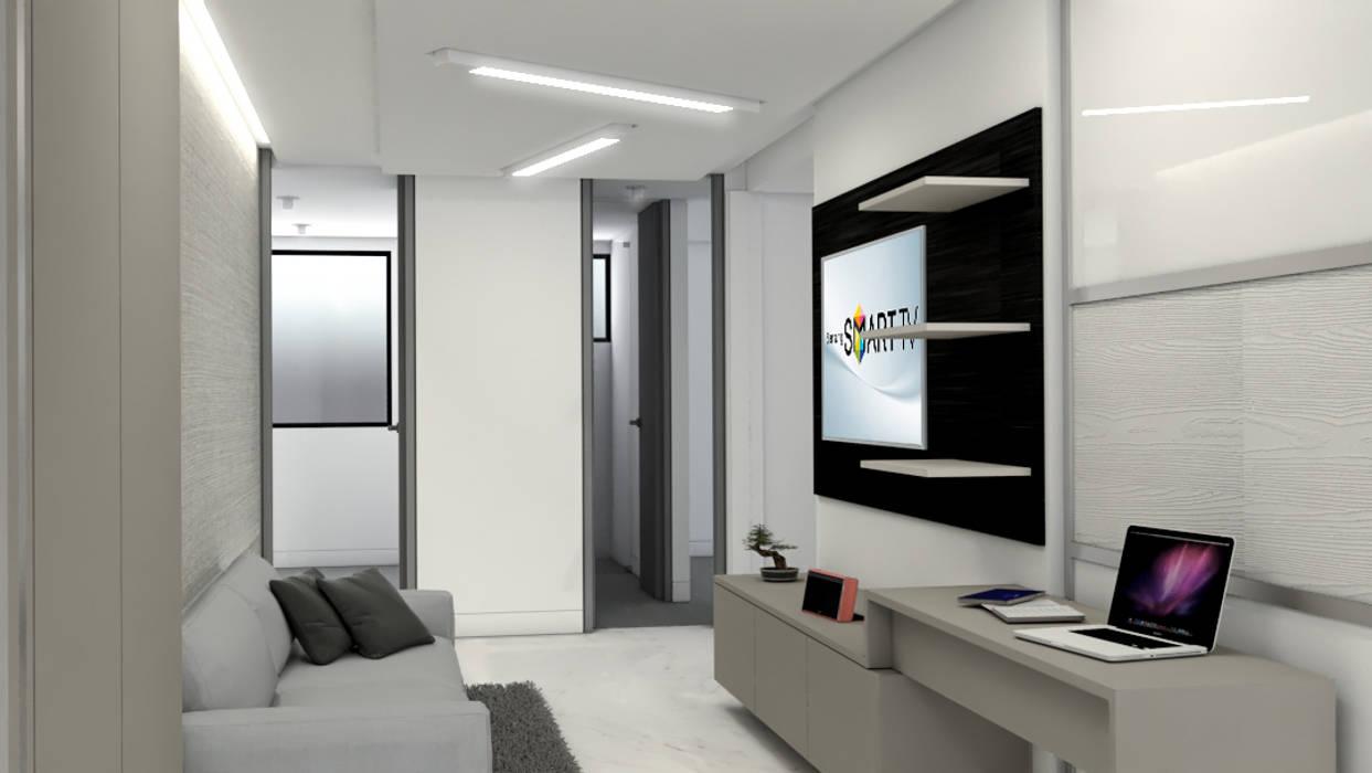 Remodelación Apartamento Montoya: Electrónica de estilo  por ProEscala- Arquitectos,