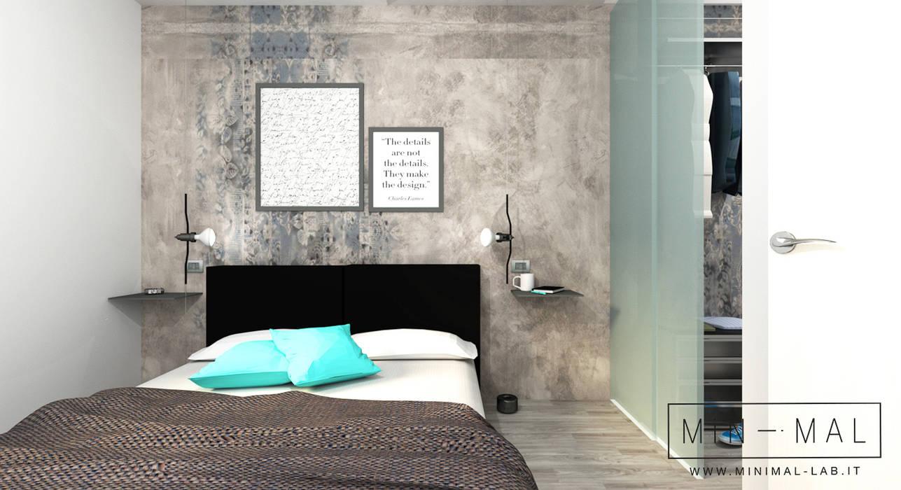 Camera da letto: Camera da letto in stile in stile Minimalista di MINIMAL di Casini Roberta