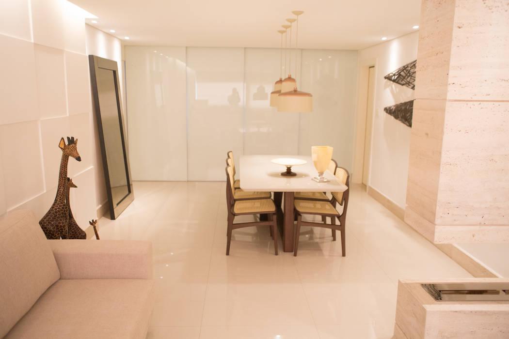 Jantar para a família realizearquiteturaS Salas de jantar modernas