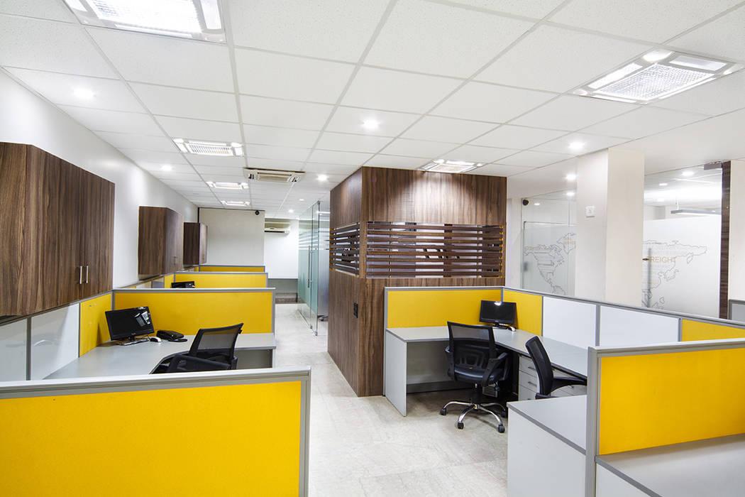 Office Interiors TKWS Rajinder Nagar, New Delhi: modern Study/office by Total Interiors Solutions Pvt. ltd.