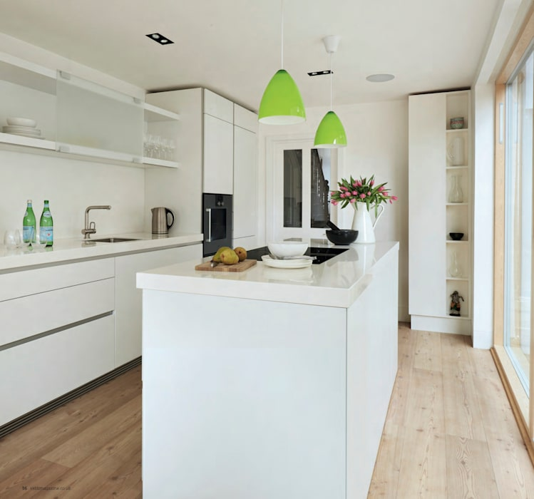 House remodeling in South London by Dittrich Hudson Vasetti Architects Scandinavian