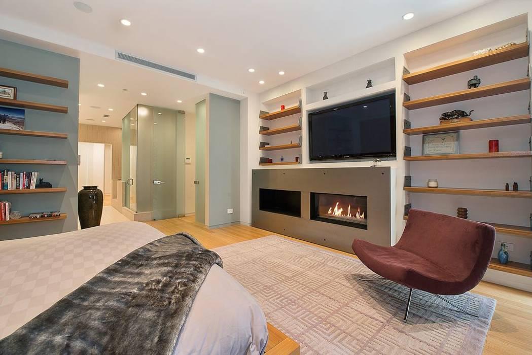 Grande suite parentale contemporaine chambre moderne par ...