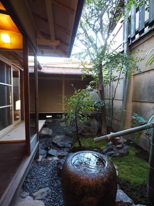 八坂の数奇屋(無限の息): 一級建築士事務所 (有)BOFアーキテクツが手掛けた庭です。,