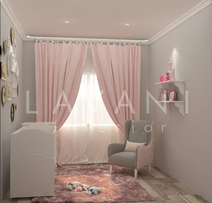 Shabby Chic Nursery Room: Nursery/kid's room oleh Lavani Interior,
