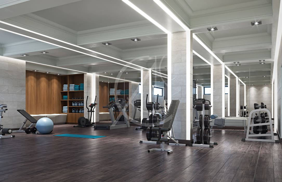 Gym by comelite architecture structure and interior design homify