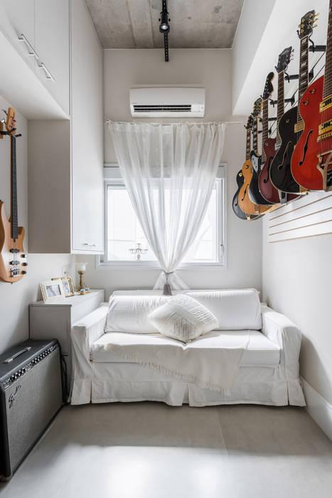 Studio Ideação Kamar Tidur Klasik MDF White