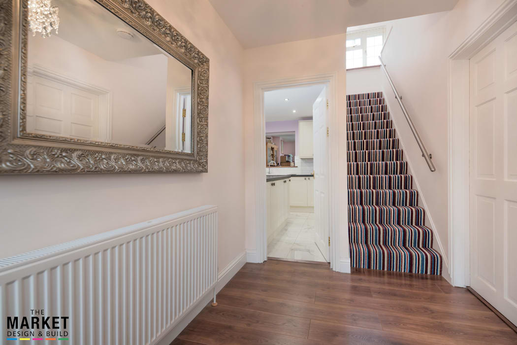 Extension In Taplow Modern corridor, hallway & stairs by The Market Design & Build Modern