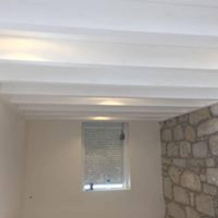 Drevo - Wood Solutions Lda Rustic style corridor, hallway & stairs