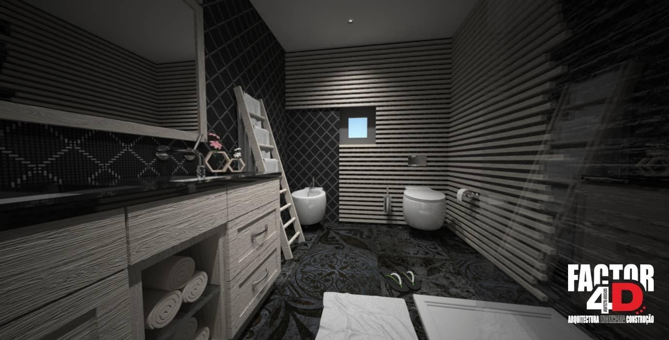 Classic style bathroom by Factor4D - Arquitetura, Engenharia & Construção Classic