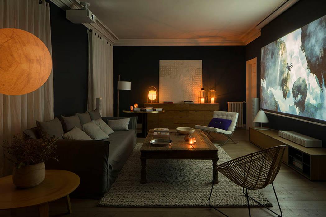 Ruang Multimedia oleh The Room Studio, Skandinavia
